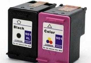 ראש דיו שחור וצבעוני HP 901XL