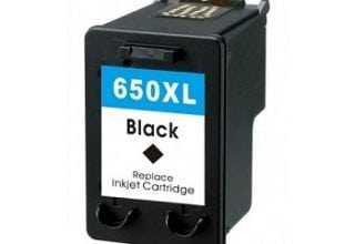 ראש דיו  שחור HP 650XL