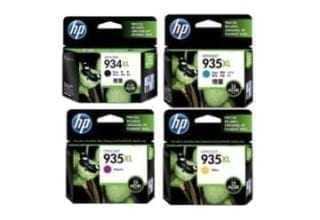 סט ראשי דיו מקורי HP 934xl/935xl