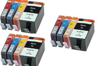 3 סטים תואמים HP 934XL/935XL במחיר מבצע.