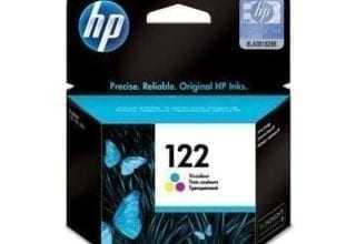 ראש דיו צבעוני מקורי HP 122