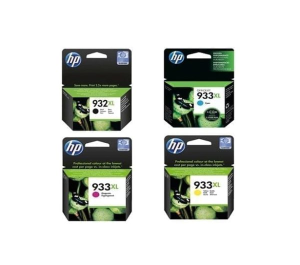 סט ראשי דיו מקורי HP 932/ 933