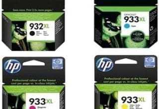 סט ראשי דיו מקורי HP 932XL/933XL