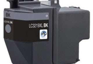 ראש דיו שחור תואם brother lc3219bk XL