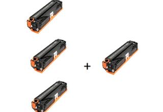 3 טונרים canon crg728 + טונר נוסף חינם!