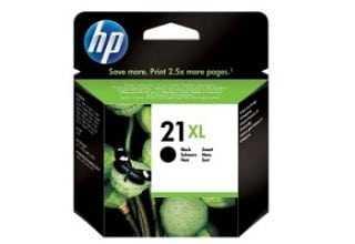 דיו שחור מקורי HP 21XL