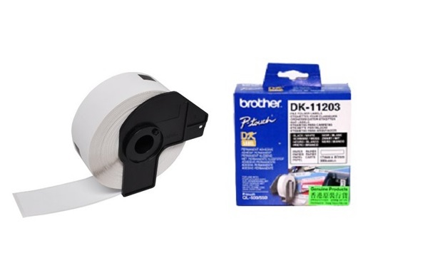 מדבקות למדפסת brother dk-11203