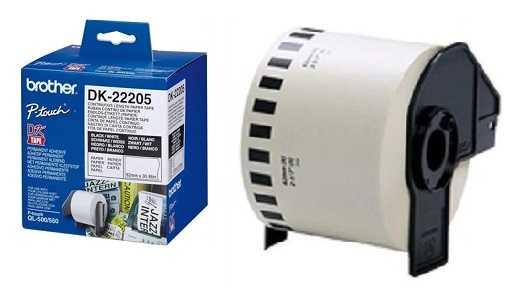 מדבקות למדפסת brother DK-22205